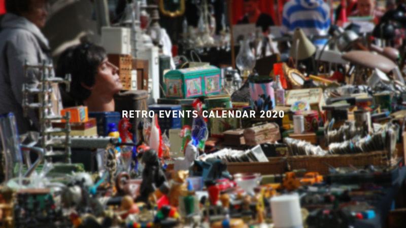 RETRO EVENTS CALENDAR 2020